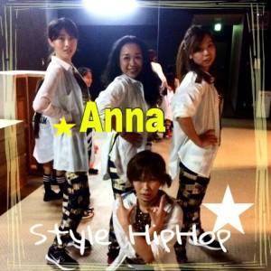 anna style hip hop