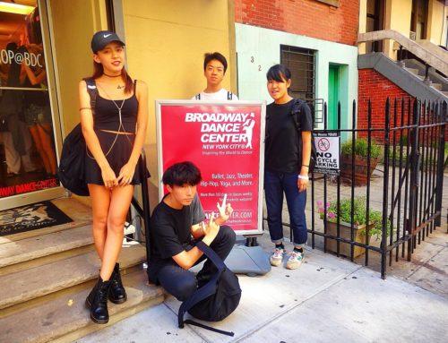 NYのBDC(ブロードウェイダンスセンター)でダンスを15LESSON