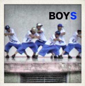 boysダンス