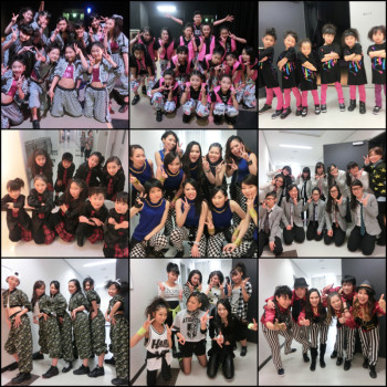 16th Stage dance JETE