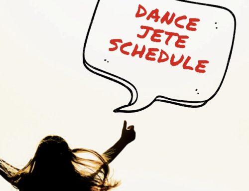 Dance JETE 7月のLESSON