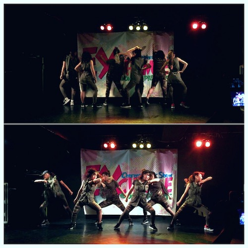 saraダンス