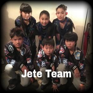 JETEキッズダンスチーム