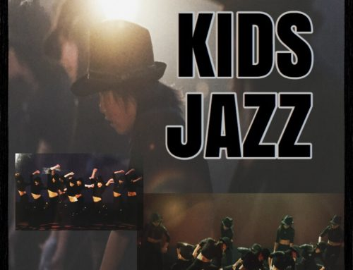 KIDS JAZZ DANCEのLESSONがスタートします