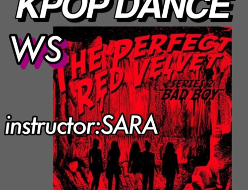 Kpopダンスを完コピして踊ろう! ワークショップを開催します!