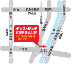 JETEの地図