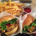 シェイクシャックのハンバーガー