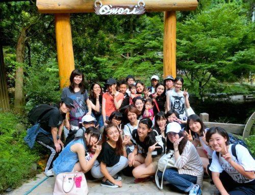 京都の大森キャンプ場でバーベキューを楽しみました 2016 7/30