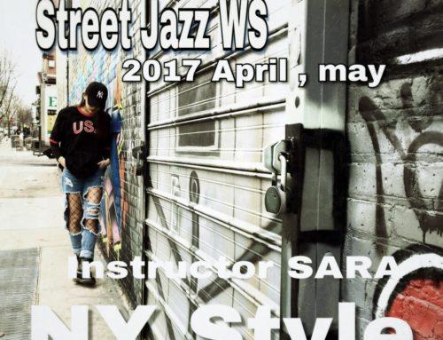 WS-SARAのNYダンス2017