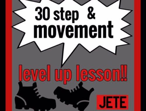 step&movement2019夏の集中レッスン
