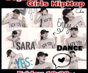 Girls HipHop Beggner Lessonスタート!! 2016 Dance JETE